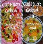 Gout Hater's Cookbooks II and III